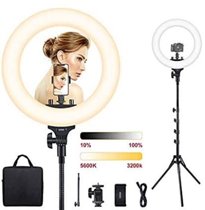 Lighting for filming video testimonial
