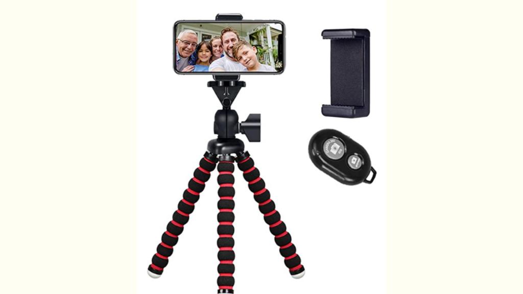 Tripod for filming video testimonial