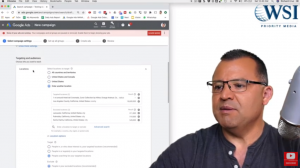 Advance settings in geo targeting- google ads