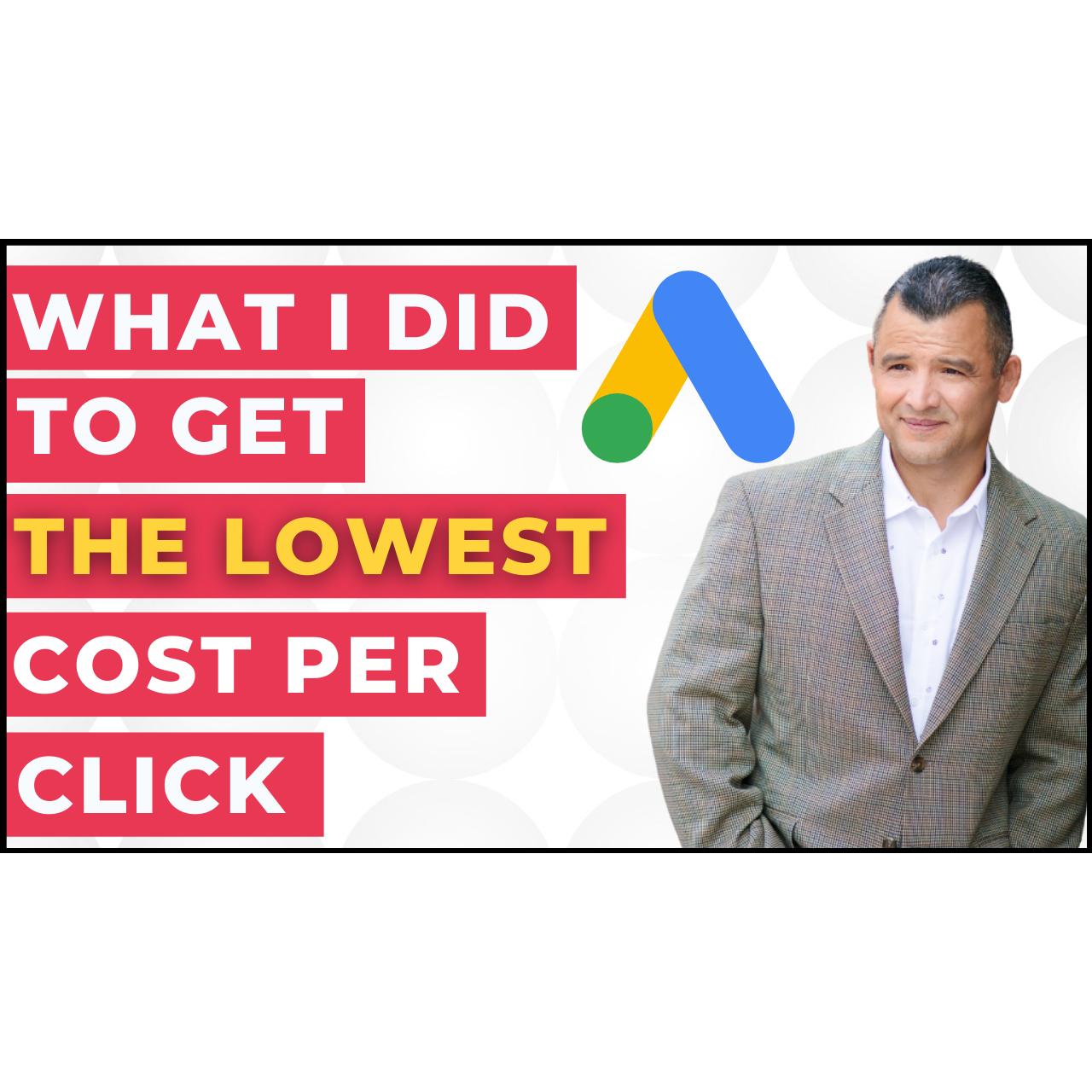 Lower CPC Google Ads