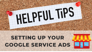Tips on setting up Google Service Ads