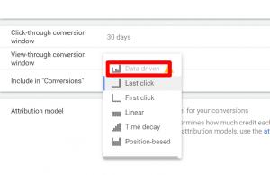 data-driven attribution google ads