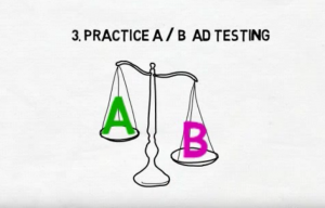 A B ad testing- lead generation tips
