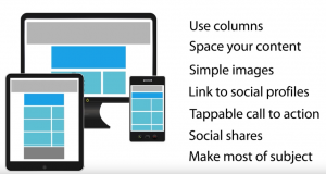 Make it mobile - Email Marketing Best Practices
