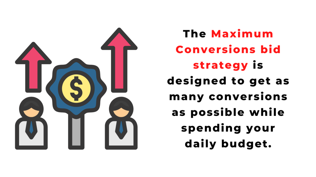 Maximum Conversions bid strategy