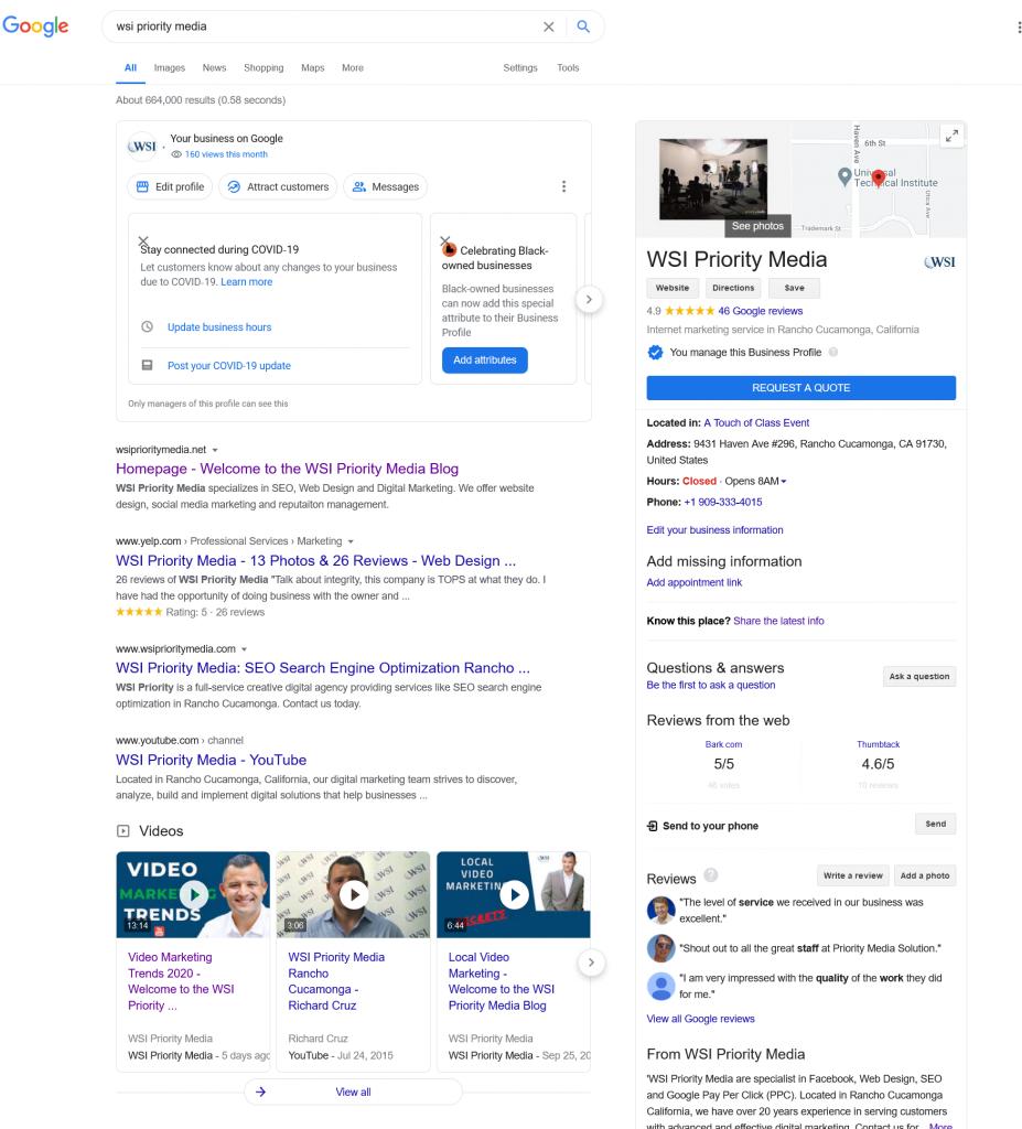 WSI Priority Media - Google Search