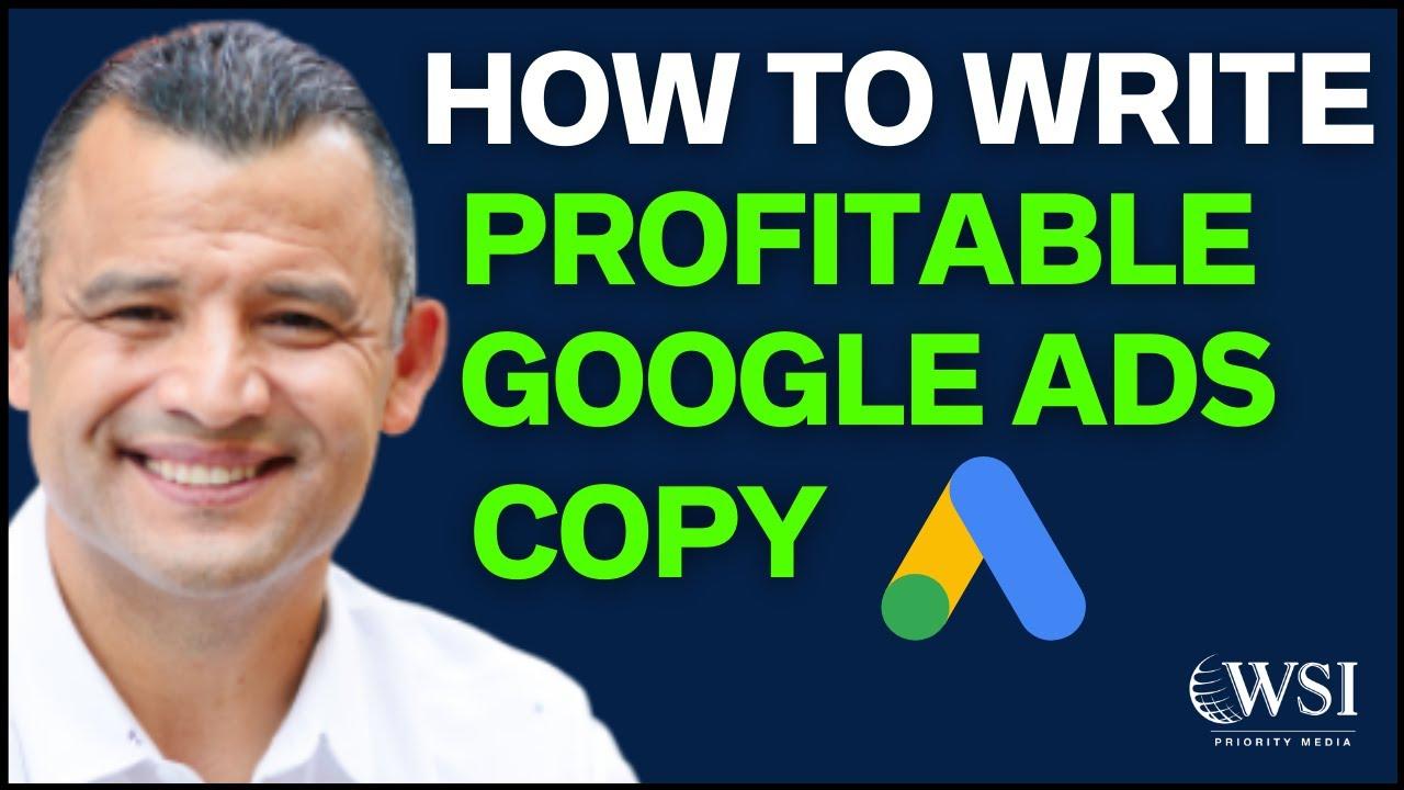 Write Google Ads Copy