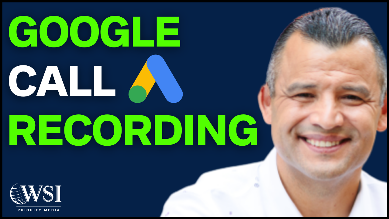 Call Recording Google Ads