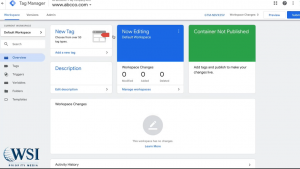 Google tag manager- create a new tag