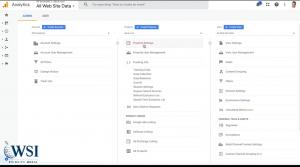Google tag manager- property settings google analytics