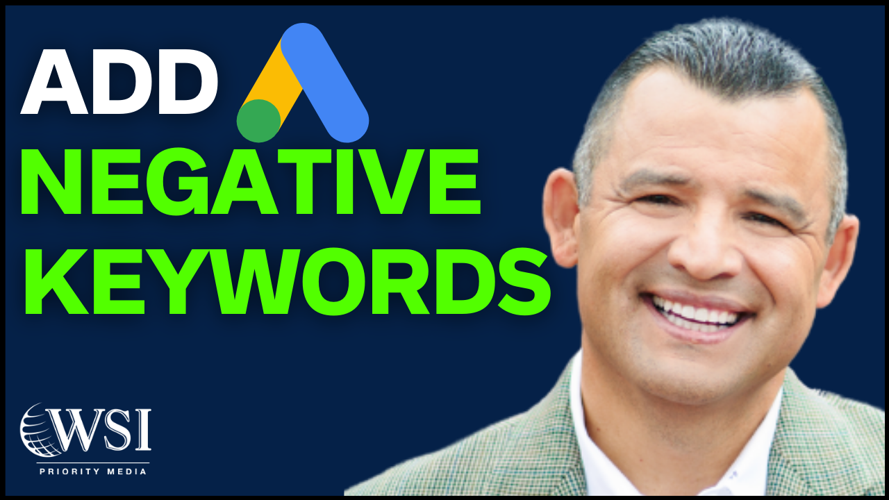 How To Add Negative Keywords To All Campaigns