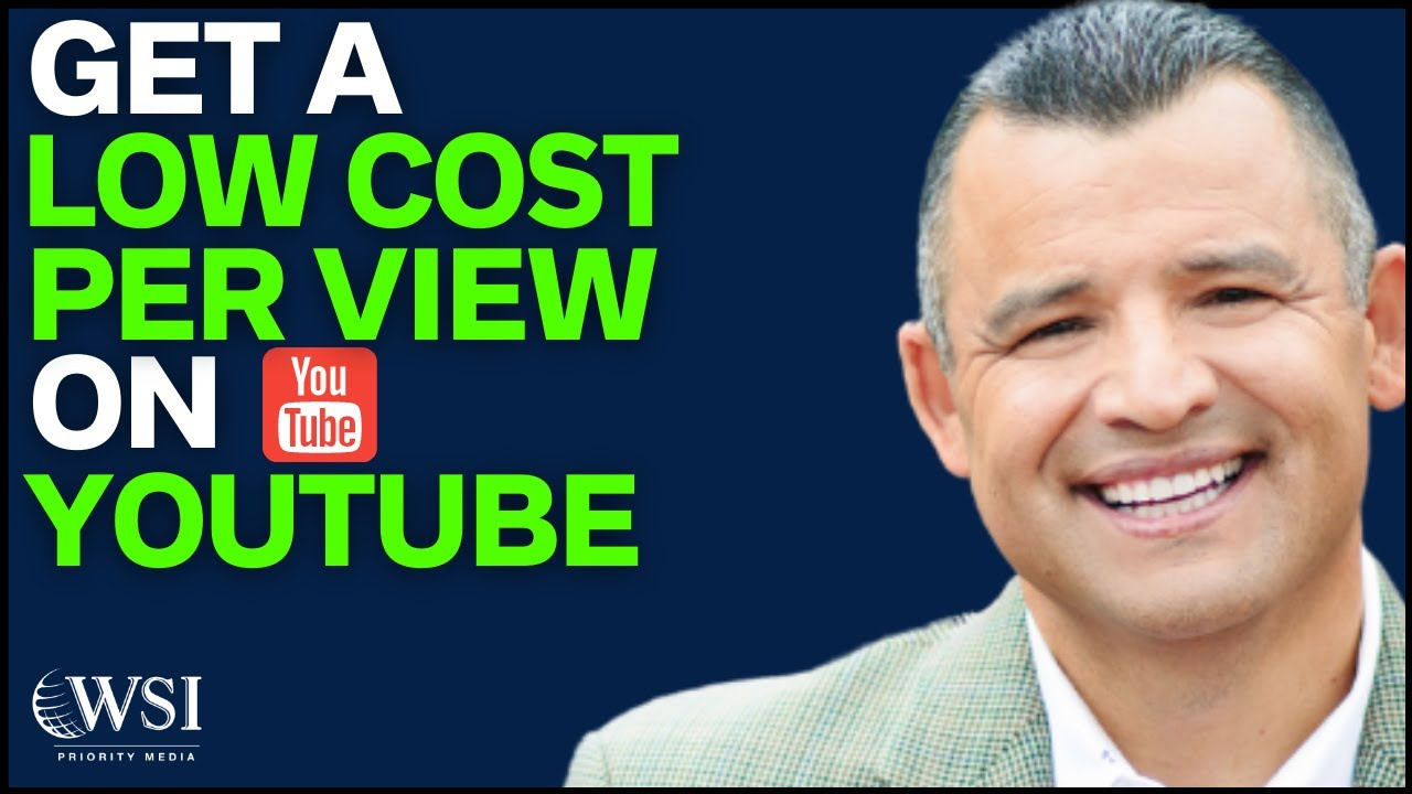 How to Get a Low YouTube Advertising Cost Per View
