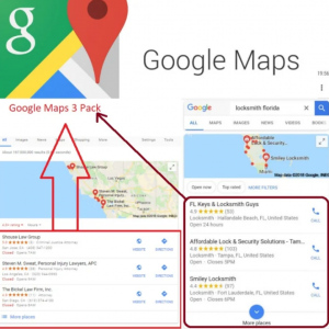 Google Maps 3-Pack