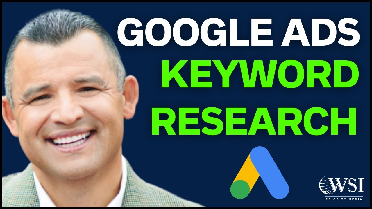 How To Do Google Ads Keyword Research